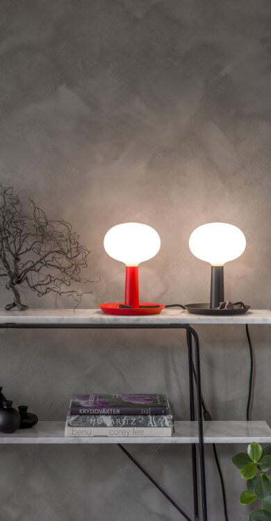 Tray Table Lamp